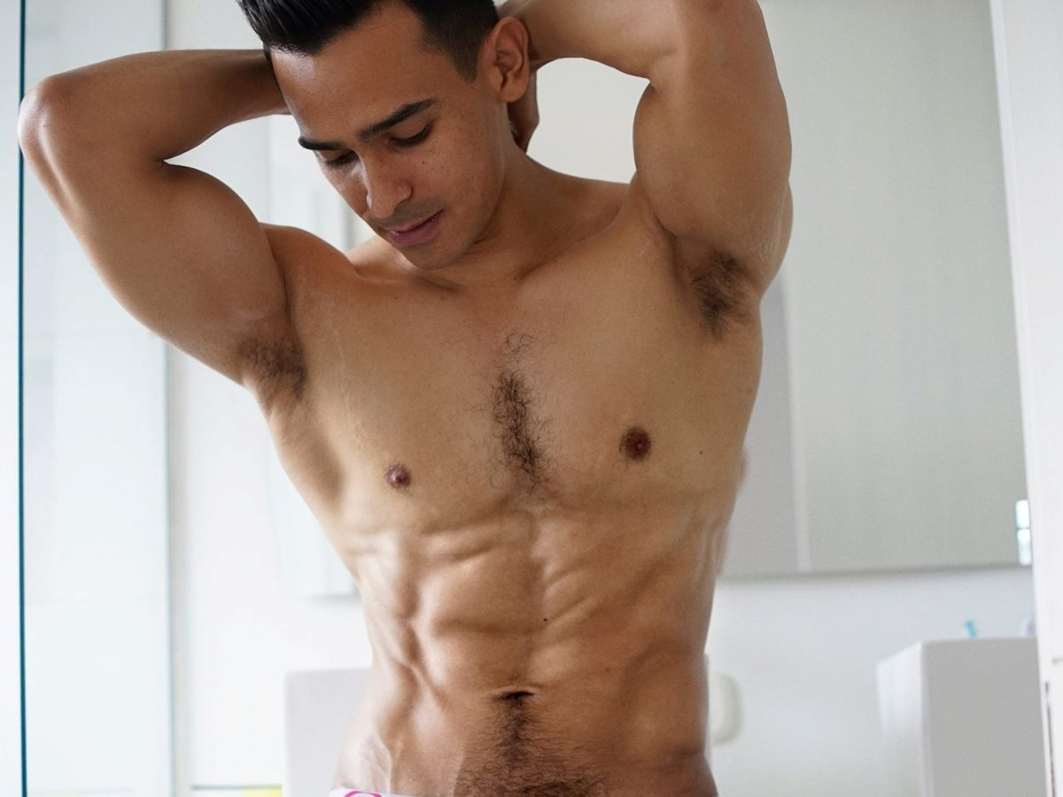 7 Hot Studs Looking Athletic on Randy Blue Live